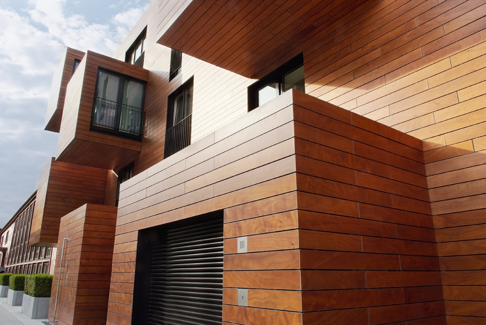modernes wohnen im holzhaus schweger immobilien. Black Bedroom Furniture Sets. Home Design Ideas
