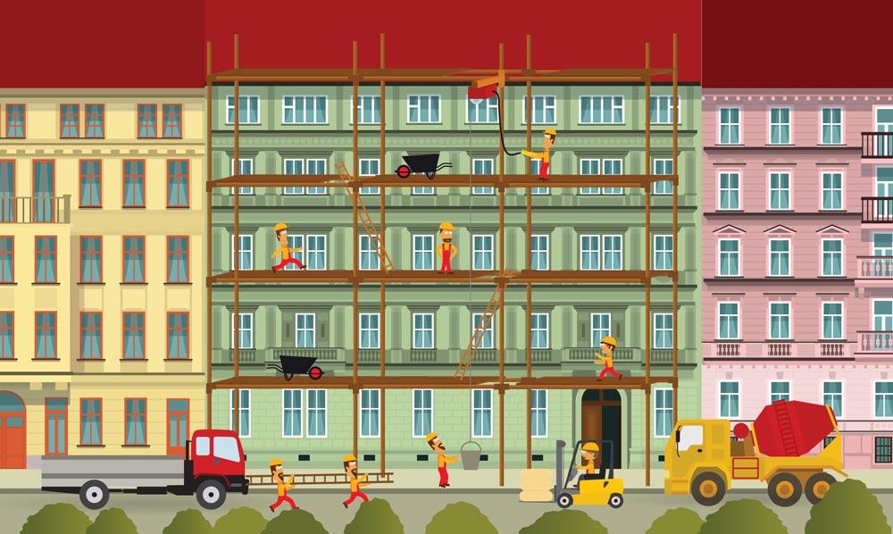 Instandhaltung Immobilie